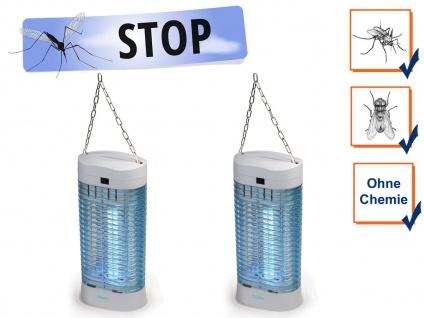 Elektrische UV Stechmückenfallen Mückenschutz - Fliegenfallen Insektenvernichter