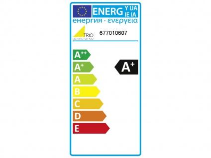 Ausgefallene LED Schlafzimmerleuchte Ø 45cm Nickel matt/weiß mit Switch Dimmer - Vorschau 4
