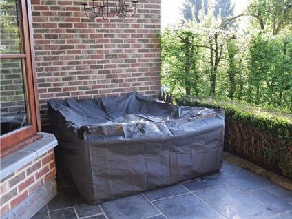 Schutzhülle Abdeckung L für Loungemöbel, 300x200cm, Abdeckplane Lounge Garten