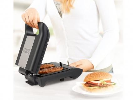 Kontakt Grill Snackmaker auch für Panini & Sandwich mit abnehmbaren Platten - Vorschau 2