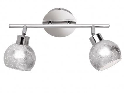 Design LED Deckenleuchte Spots drehbar Silber G9, Wohnraumleuchte Dielenlampen - Vorschau 2