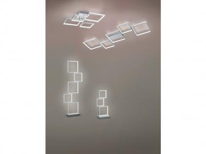 Moderner Fensterbank Tischleuchter, große Nachttischlampe für Jugendzimmer eckig - Vorschau 4