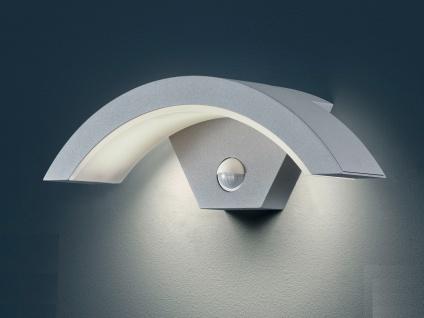 Außenleuchte OHIO titan, Bewegungssensor, IP54, 6 W LED, H. ca. 10cm