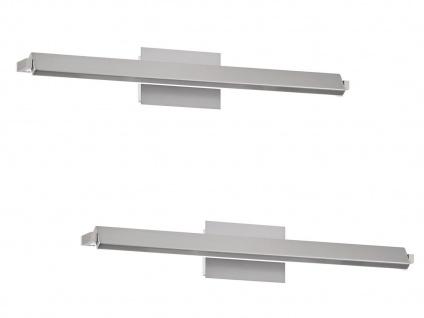 Verstellbares LED Wandlampen 2er Set je 60cm mit Schalter für Dimmen Farbwechsel