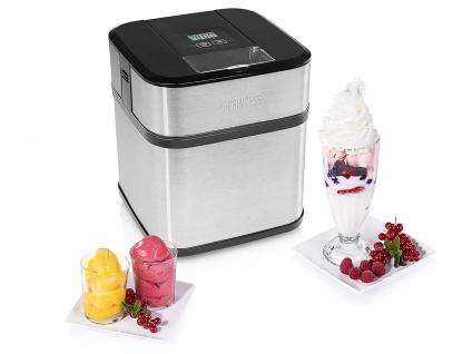 Kleine 1, 5L Eismaschine für Zuhause & Camping Joghurt Eis & Sorbet selber machen