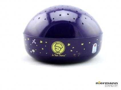 LED Nachtlicht DER KLEINE PRINZ, projiziert bunte Sterne ins Kinderzimmer *NEU*