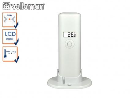 Ersatz Außentemperatursensor für Velleman digital Funk Pool Thermometer WS9068