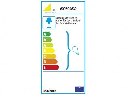 LED Deckenlampe höhenverstellbar bis 45cm in schwarz matt/bronze, Ø 57cm, E14 - Vorschau 4