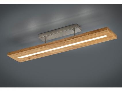 Große LED Küchendeckenlampen mit langem viereckigem Holzbalken für große Räume
