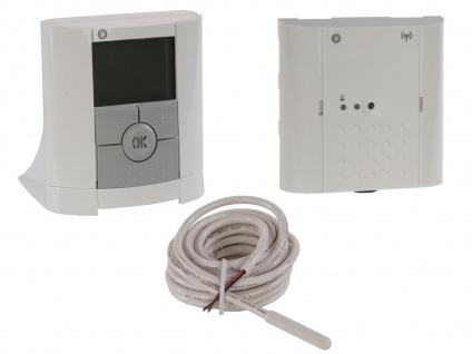 Vitalheizung Set: Thermostat / Funk Raumthermostat, Empfänger, Fußbodenfühler - Vorschau 2