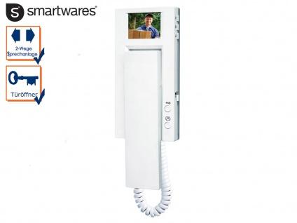 Inneneinheit Zusatzeinheit für Video Türsprechanlagen der Smartwares VD60-Serie