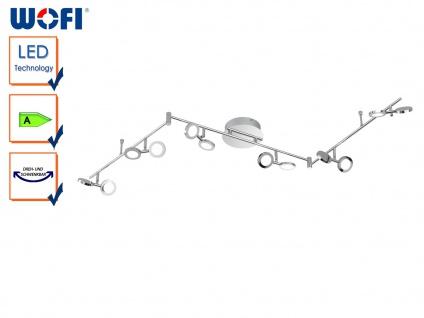 LED Deckenstrahler JOYCE, Chrom, Länge 163, 5cm, Deckenlampen Deckenleuchten LED
