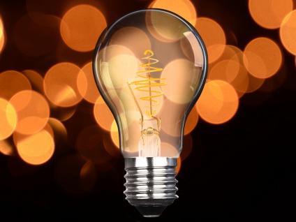 FILAMENT LED Leuchtmittel A60 mit 3 Watt, 150 Lumen, 2000 Kelvin, E27-Sockel - Vorschau 5