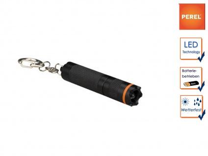Wasserfeste Mini LED Taschenlampe mit Schlüsselanhänger, Mikro Outdoor Lampe