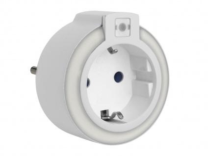 LED Nachtlicht mit Dämmerungssensor, Orientierungslicht Notfall-Leuchte