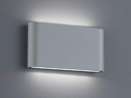 Trio LED Wandleuchte THAMES titan, Uplight Downlight Wandlampe innen außen IP54