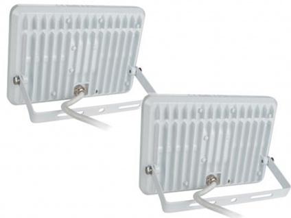 2er Set 50W LED Arbeitsleuchten Strahler weiß, Flutlicht Scheinwerfer Flutlicht - Vorschau 3
