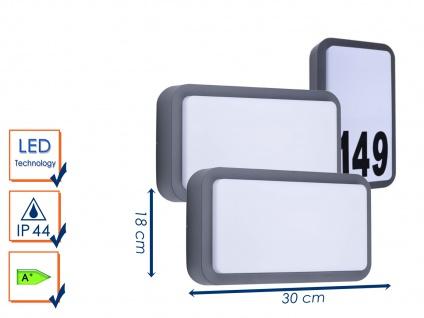 2er-Set LED Außenwandleuchten Hausnummernleuchten Wandleuchten 7Watt, 630 Lumen