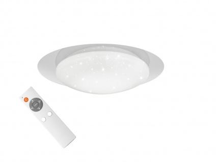 LED Deckenbeleuchtung mit Fernbedienung dimmbar Farbtemperatur einstellbar Ø35cm
