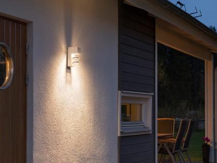 2er-Set Außenwandleuchten ACERRA, weiß, 5 Watt LED, 400 Lumen, IP54 - Vorschau 5
