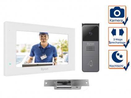 Einfamilienhaus Video Türsprechanlage mit Kamera, 7 Zoll Touchscreen & Türöffner