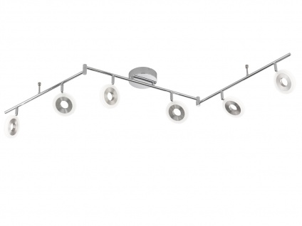6-flammige LED Deckenleuchte DIVINA, L. 163cm, dimmbar, Deckenlampen Spotleiste - Vorschau 2