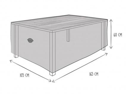 Gartenmöbel Schutzhülle Abdeckung für Gartentisch 160 x 105cm, wetterfeste Plane