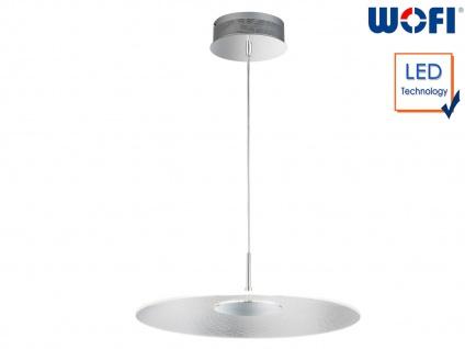 Runde LED Pendelleuchte Ø 49cm 15 Watt Deckenbeleuchtung Esstischlampe Bürolampe