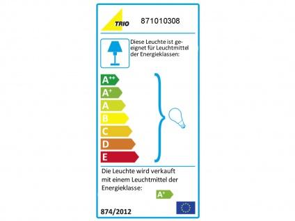 3 flammiger LED Deckenstrahler für Innen schwenkbar Messing matt Wohnzimmerlampe - Vorschau 3