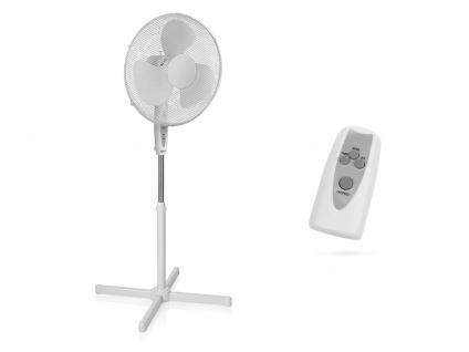 Oszillierender Standventilator mit Fernbedienung & Timer Winderzeuger Luftkühler