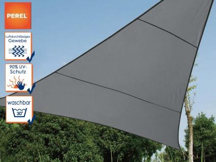 Sonnensegel Dreieck Dunkelgrau 10, 8 m², Sonnenschutz für Terrasse Terrassensegel