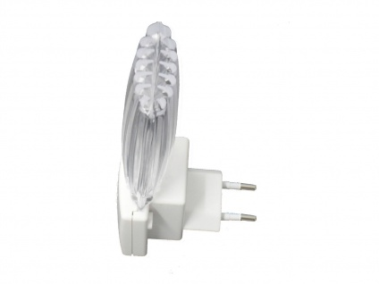 LED Nachtlicht mit Dämmerungsauotmatik, weiß Nachtlampe Kinderzimmer *NEU* - Vorschau 2