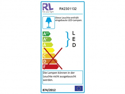 LED Deckenfluter PONDA variabel verstellbar Schwarz Sensor Dimmer, 179cm Ø28cm - Vorschau 4