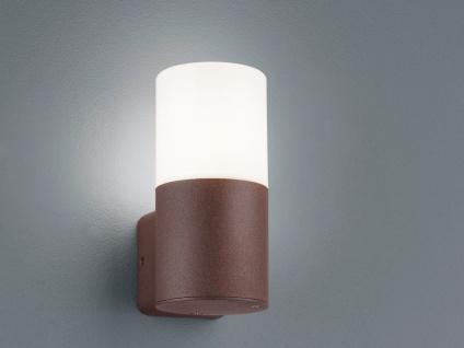 Runde LED Außenwandleuchten Rostoptik Außenleuchten für Hauswand Außenbereich