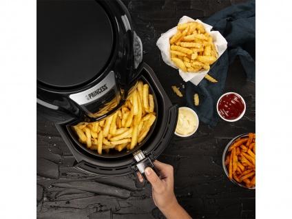 Pommes Heißluftfritteuse 3, 2L - Frittieren ohne Öl - fettfreie Umluft Friteuse - Vorschau 3