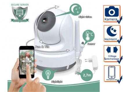 Zusatz Baby Cam für ELRO Video Babyphone BC3000 - Extra Kamera Babyüberwachung