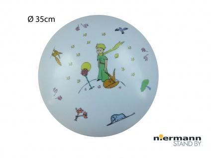 Deckenschale rund Ø 35cm Motiv KLEINER PRINZ Deckenleuchte Kinderzimmer