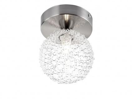 Globo Design Deckenlampe Wandleuchte ENIGMA mit G9, Wohnraumleuchte Kugel modern