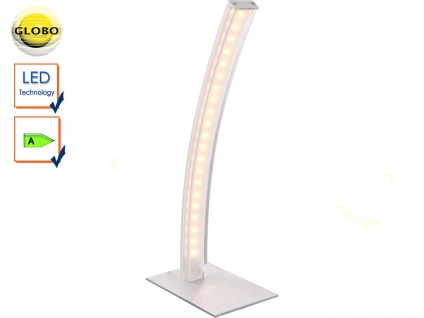 Globo LED Tischleuchte ACE gebogene, Schreibtischlampe Leselampe modern Büro