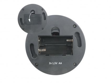 2er Set Dome Kamera Attrappe LED Blitzlicht - Fake Dummy Überwachungskamera - Vorschau 4
