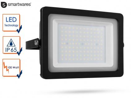 LED Strahler Aluminium 100W IP65 Fassadenbeleuchtung Wandstrahler außen Fluter - Vorschau 1