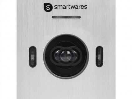 Einparteien Videosprechanlage LCD Bildschirm + Türöffner für weitöffnende Türen - Vorschau 4