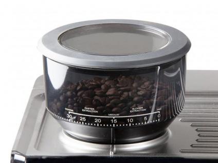 Profi Espressomaschine Barista Kaffeevollautomat mit Mahlwerk & Milchaufschäumer - Vorschau 5