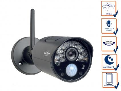 Zusatzkamera für ELRO Videoüberwachungssystem CZ30RIP, Handy Überwachungs App - Vorschau 3