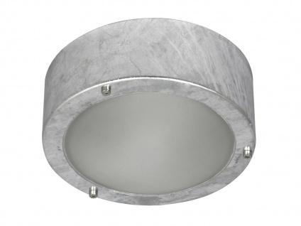 LED Terrassenlampe im Industrie Design für außen Deckenlampe Wandlampe Garten - Vorschau 2