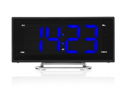 Radiowecker mit USB-Anschluss, Uhrenradio mit 2 Weckzeiten & Schlummerfunktion - Vorschau 3