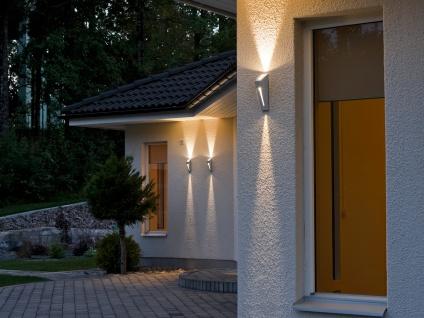 2er-Set Up/Down Außenwandleuchten IMOLA, 6 Watt HP-LEDs, IP44 - Vorschau 4