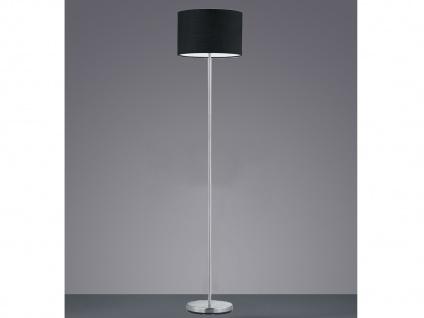 Design Stehleuchten mit LED & Stoffschirm Schwarz - Standlampen fürs Wohnzimmer