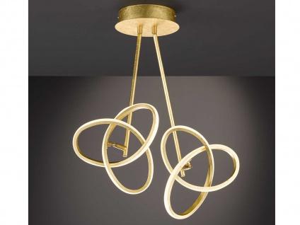 LED Deckenleuchte in Blattgold-Optik 26W verstellbar - Designerleuchte Esszimmer - Vorschau 5