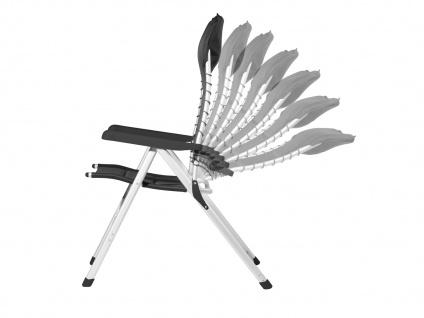 SET 2 stabile bequeme Balkonstühle klappbar Liegestuhl Campingstühle Klappstühle - Vorschau 4